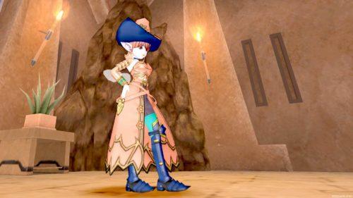 ドラクエ10氷の魔王のスーツヴァレリアで鎧なのに魔女っ子