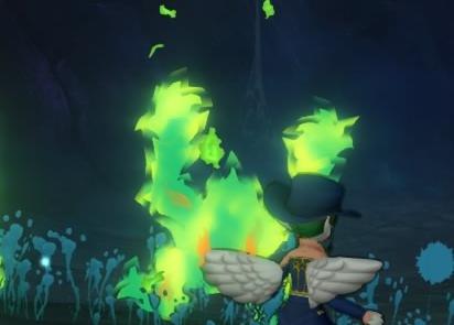 神聖秘文ヒエログリフ嵐なき森に佇む獣の王スピリットフレイム