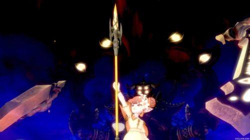 邪神の宮殿三獄僧侶槍デンジャーランスオウマガトキ闇に堕ちた英雄の幻影