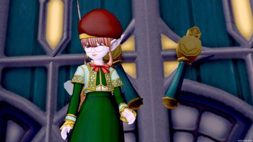 ドレア初級魔法戦士ベレー音楽隊の制服上サジェのメガネ