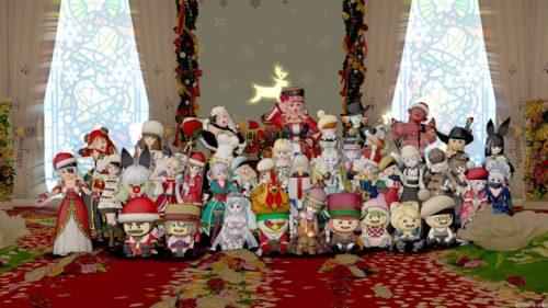 ドラクエ10クリスマスイベントハウジング