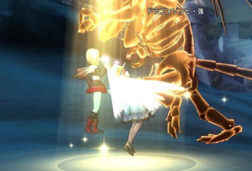 ドラゴンゾンビ強レベル上げ職業僧侶天使の守り